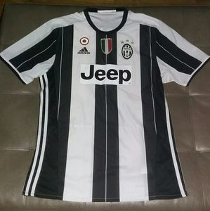 Authentic 2017 Juventus Jeep Soccer Jersey